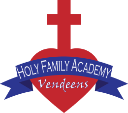 Holy Family's logo is the Sacred Heart.