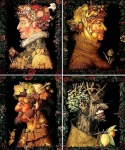 Giuseppe Arcimboldo The Four Seasons, 1573