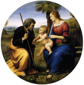 raphael holy family