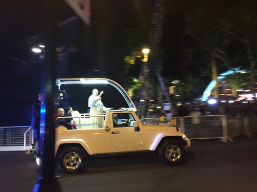 Pope Francis at the Festival of Families
