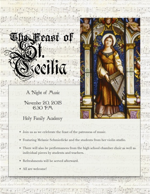 St. Cecilia flyer pic